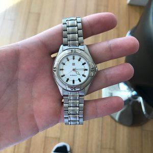 Givenchy Rare Silver Watch
